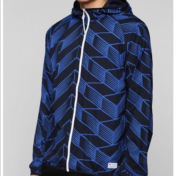 49bf96d74047 Brand New Adidas Originals Football Windbreaker
